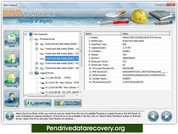 Windows 7 Pen Drive Data Restore 4.0.1.6 full